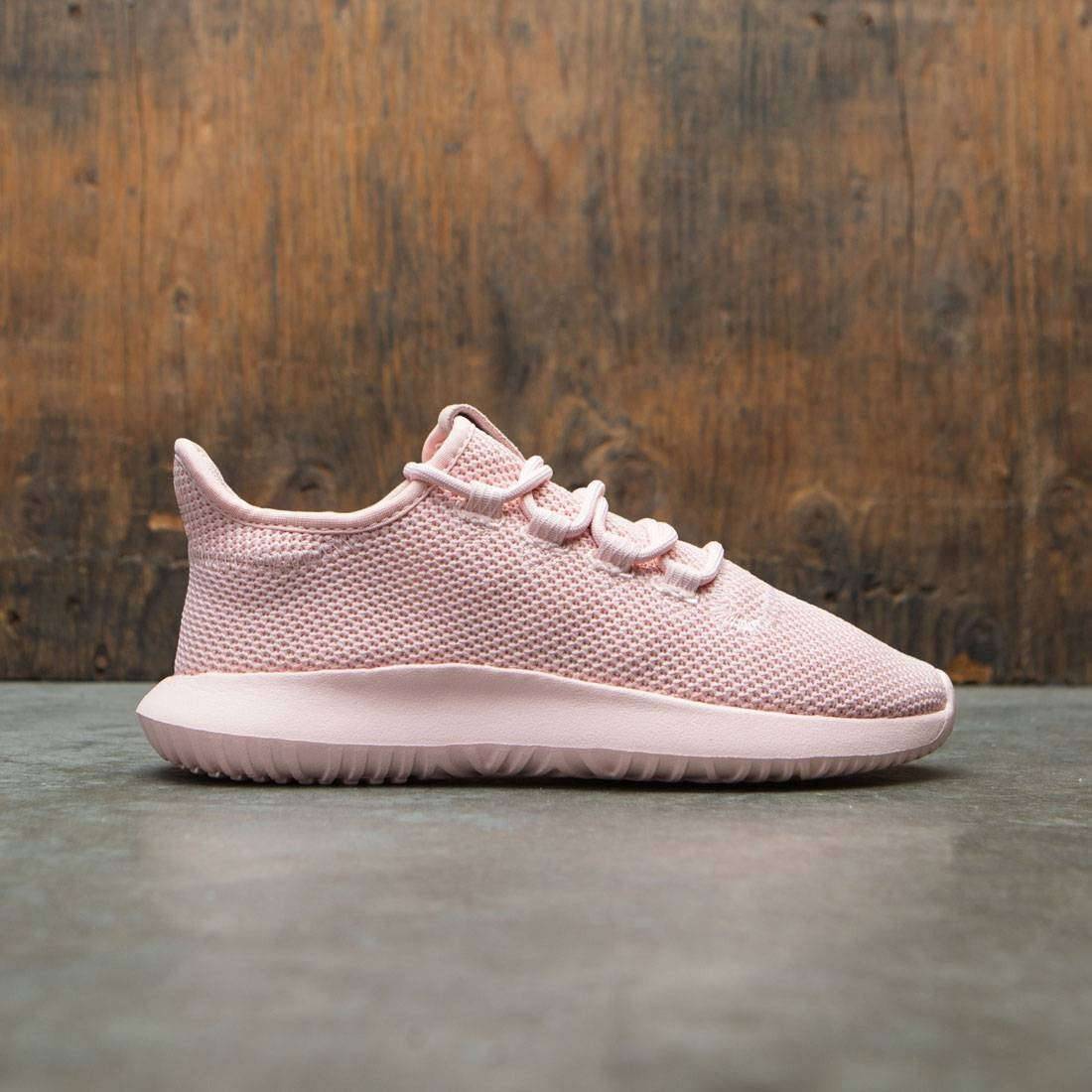 Adidas Big Kids Tubular Shadow Knit J (pink / vapour pink)