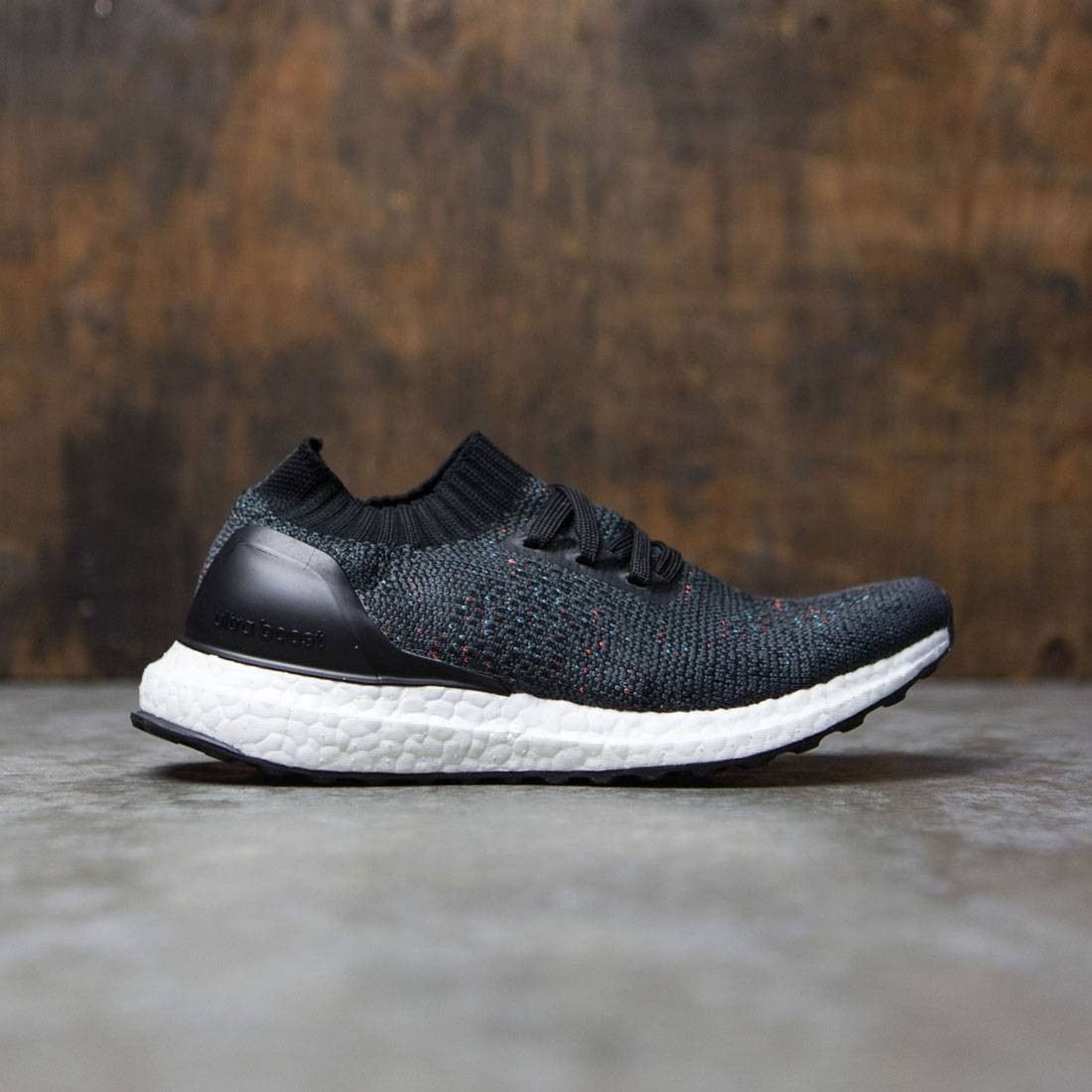 8d484a4acc0 Adidas Big Kids UltraBOOST Uncaged gray solid grey core black utility black
