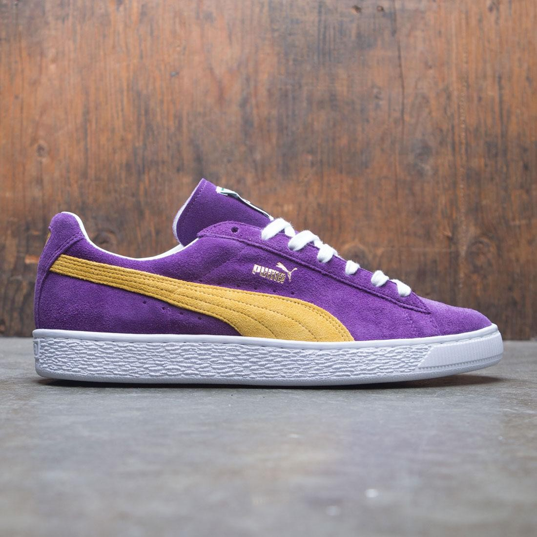 quality design ae590 101ff Puma Men Suede Classic - Made In Japan Collectors (purple / yellow)