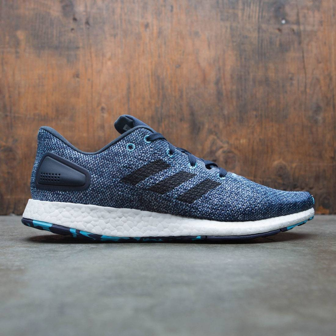0cc1a4e4d29e90 Adidas Men PureBOOST DPR LTD white core black vapor blue