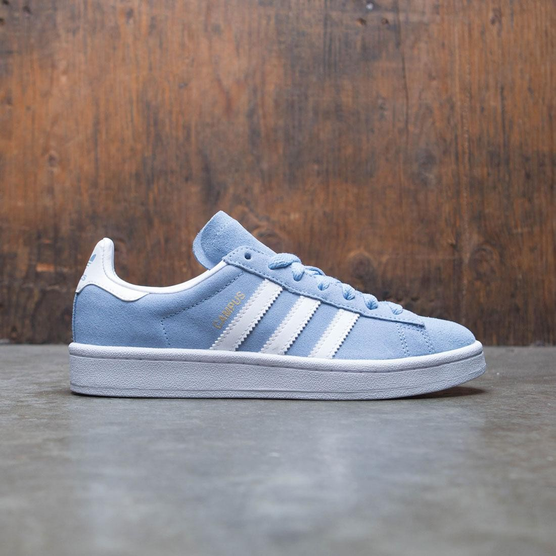 Adidas Big Kids Campus J (blue / ash blue / footwear white)