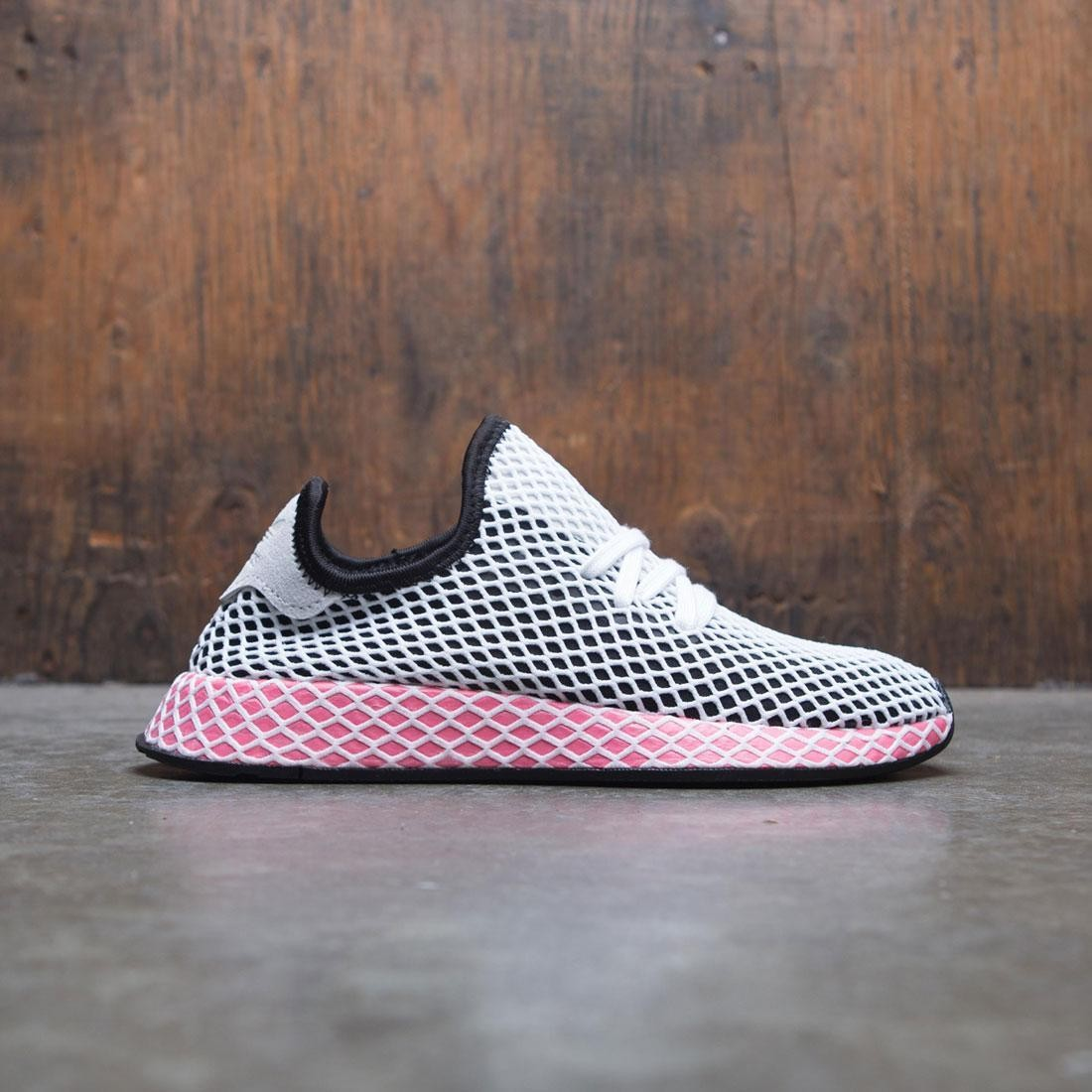 Adidas Women Deerupt Runner W (black / core black / chalk pink)