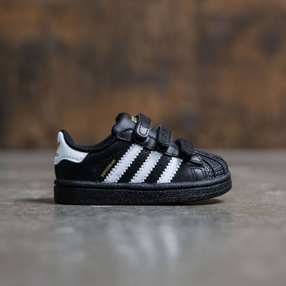 1d986c26d36 Adidas Toddlers Superstar Foundation black footwear white core black