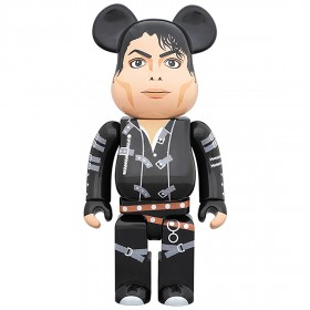 PREORDER - Medicom Michael Jackson BAD 1000% Bearbrick Figure (black)