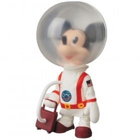 PREORDER - Medicom UDF Disney Series 8 Astronaut Mickey Mouse Vintage Toy Ver Ultra Detail Figure (white)