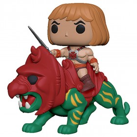 PREORDER - Funko POP Rides Masters of the Universe - He-Man On Battle Cat (green)