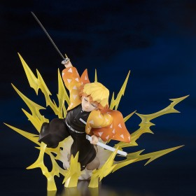 PREORDER - Bandai Figuarts Zero Demon Slayer Agatsuma Zenitsu Thunder Breathing Figure (yellow)