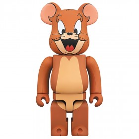 PREORDER - Medicom Tom and Jerry - Jerry 400% Bearbrick Figure (brown)