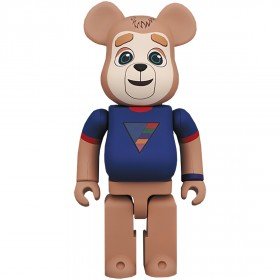 PREORDER - Medicom Care Bears Brigsby Bear 400% Bearbrick Figure (brown)