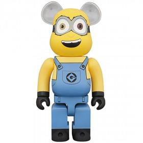 preorder medicom minions tim and bob 100% 2 pack bearbrick ...