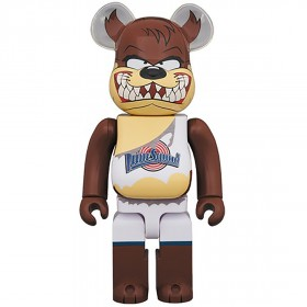 PREORDER - Medicom x Space Jam Tasmanian Devil 400% Bearbrick Figure (brown)