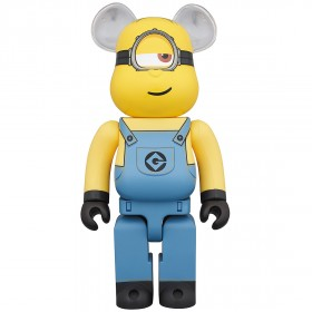 PREORDER - Medicom Despicable Me 3 Minion Stuart 400% Bearbrick Figure (yellow)