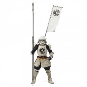 Bandai Meisho Movie Realization Star Wars Episode IV-VI Yari Ashigaru Storm Trooper Figure (white)