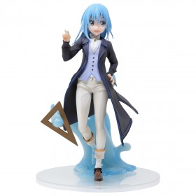 Bandai Ichiban Kuji That Time I Got Reincarnated As A Slime Teacher Ver. Rimuru Private Tempest Figure (blue)