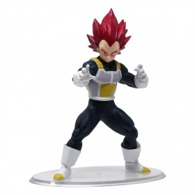 Bandai Dragon Ball Styling Vol. 6 Super Saiyan God Vegeta Figure (red)