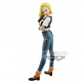 PREORDER - Banpresto Dragon Ball Z Glitter And Glamours Android No. 18 III Figure - Ver A (blue)