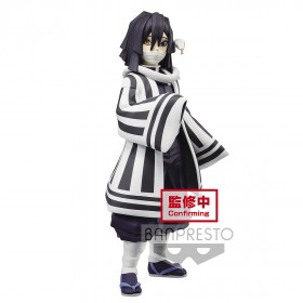 PREORDER - Banpresto Demon Slayer Kimetsu no Yaiba Figure Vol. 15 Obanai Iguro Figure (navy)