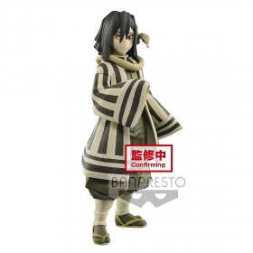 PREORDER - Banpresto Demon Slayer Kimetsu no Yaiba Figure Vol. 16 Obanai Iguro Figure (beige)