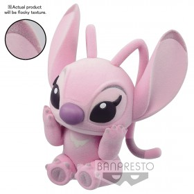 PREORDER - Banpresto Fluffy Puffy Disney Characters Lilo And Stitch - Angel Figure (pink)