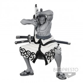 PREORDER - Banpresto One Piece Banpresto World Figure Colosseum 3 Super Master Stars Piece The Roronoa Zoro The Tones Figure (gray)
