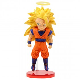 Banpresto Dragon Ball Legends Collab World Collectable Figure Vol 2 - 07 Super Saiyan 3 Son Goku (orange)
