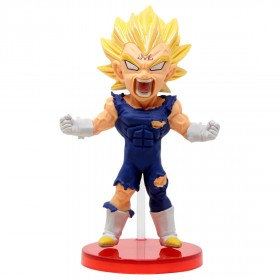Banpresto Dragon Ball Legends Collab World Collectable Figure Vol 2 - 08 Majin Vegeta (blue)