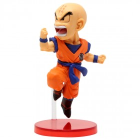 Banpresto Dragon Ball Legends Collab World Collectable Figure Vol 2 - 12 Krillin (orange)