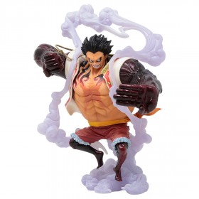 Banpresto One Piece King of Artist The Monkey D. Luffy Gear 4 Special Ver. A Figure (white)