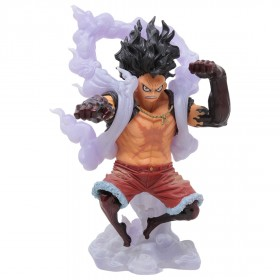 Banpresto One Piece King of Artist The Monkey D. Luffy Gear 4 Special Ver. B Figure (white)