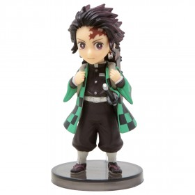 Banpresto Demon Slayer Kimetsu No Yaiba World Collectable Figure - 1 Tanjiro Kamado (green)