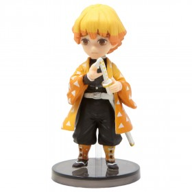 Banpresto Demon Slayer Kimetsu No Yaiba World Collectable Figure - 3 Zenitsu Agatsuma (orange)