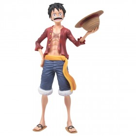 Banpresto One Piece Grandista Nero Monkey D. Luffy Figure (tan)