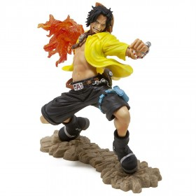 Banpresto One Piece Portgas D Ace 20th Anniversary Figure (orange)