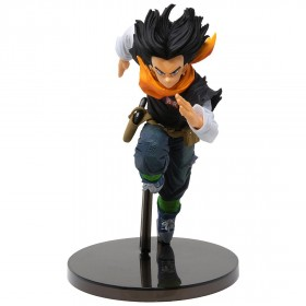 Banpresto Dragon Ball Z Banpresto World Figure Colosseum 2 Vol.3 Android 17 Figure (black)