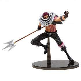 Banpresto One Piece Banpresto World Figure Colosseum 2 Vol.5 Charlotte Katakuri Figure (red)