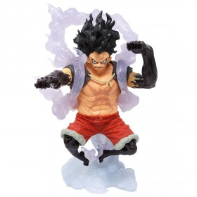Banpresto One Piece King of Artist Monkey D. Luffy The Snakeman Figure (white)