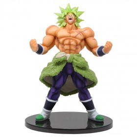 Banpresto Dragon Ball Super Banpresto World Figure Colosseum 2 Special Broly Figure (green)