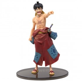 Banpresto One Piece Banpresto World Figure Colosseum 2 Special Monkey D. Luffy Figure (tan)