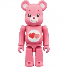 PREORDER - Medicom Care Bears Love A Lot Bear 100% Bearbrick Figure (pink)