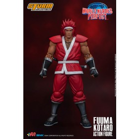 PREORDER - Storm Collectibles World Heroes Perfect Fuuma Kotaro 1/12 Action Figure (red)