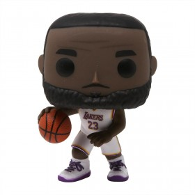 Funko POP Basketball NBA LA Lakers Lebron James White Uniform (white)
