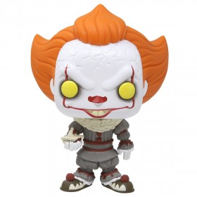 Funko POP Movies It Chapter 2 - 10 Inch Pennywise With Boat (white)