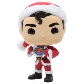 Funko POP Heroes DC Super Heroes - Superman In Holiday Sweater (red)
