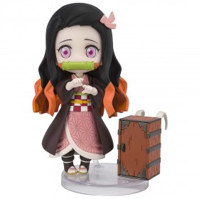 PREORDER - Bandai Figuarts Mini Demon Slayer Kamado Nezuko Figure (pink)