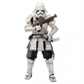 Bandai Meisho Movie Realization Star Wars Ashigaru First Order Stormtrooper Figure (white)