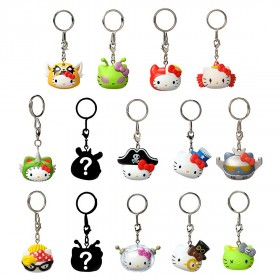 Kidrobot x Sanrio Hello Kitty Time To Shine Keychains - 1 Blind Box