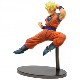 Banpresto Dragon Ball Super Chosenshi Retsuden Vol. 4 Super Saiyan Son Gohan Figure (orange)
