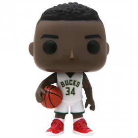 Funko POP Basketball NBA Milwaukee Bucks - Giannis Antetokounmpo (white)
