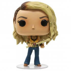 Funko POP Heroes Birds Of Prey Black Canary With Collectible Card - Entertainment Earth Exclusive (brown)