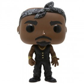 Funko POP Rocks Tupac Vest With Bandana (brown)